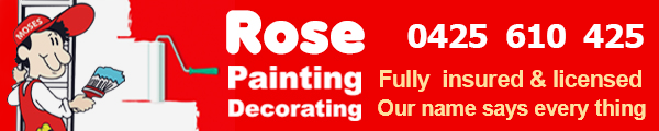 Rose Painting QLD